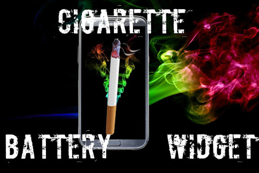 Battery Widget Cigarette