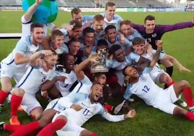 Magnifique but collectif des U20 anglais
