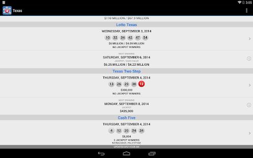 Lotto Results - Lottery Games- screenshot thumbnail