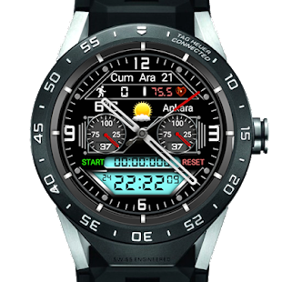 H 105 Hybrid Watch Face For WatchMaker Users Screenshot