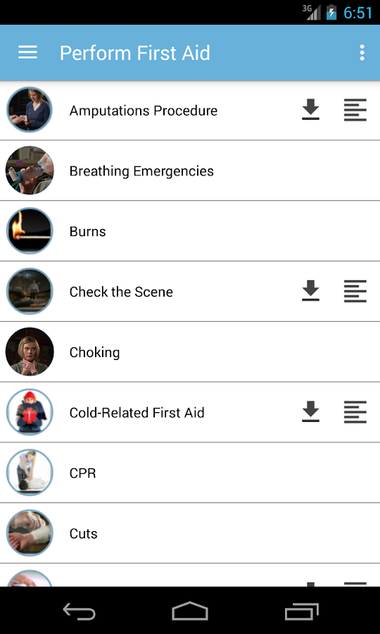 Home First Aid- screenshot