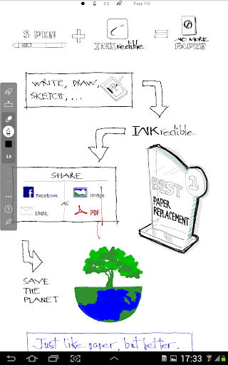 Screenshot for INKredible PRO in United States Play Store