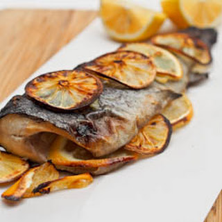 Four Ingredient Oven Baked Trout {Gluten-Free, Dairy-Free}