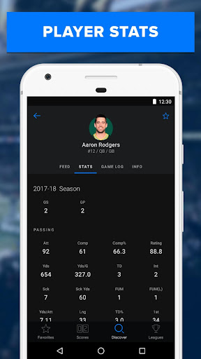 theScore: Live Sports News, Scores, Stats & Videos 6.5.2 screenshots 6