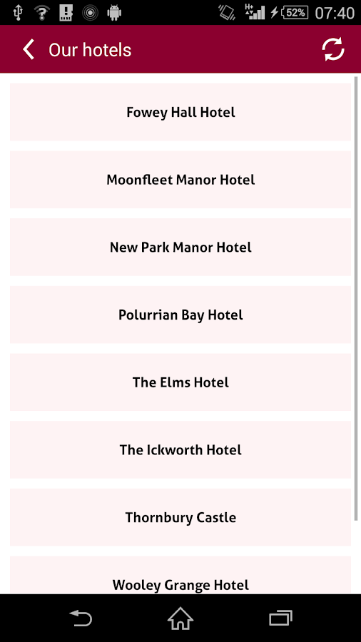 Luxury Family Hotels- screenshot
