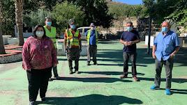 En Cóbdar el PFEA ejecutará labores de desbroce y limpieza en varios puntos del municipio.