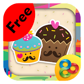Cute Cupcakes Theme Free