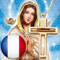 Holy Rosary with audio in French icon