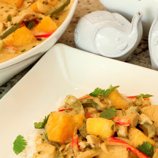 Mango Chicken Coconut Curry Recipe