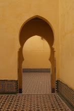 Photo: Moulay Ismail Mausoleum, Meknes