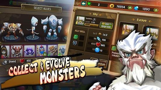 Legends imortais - TD Screenshot