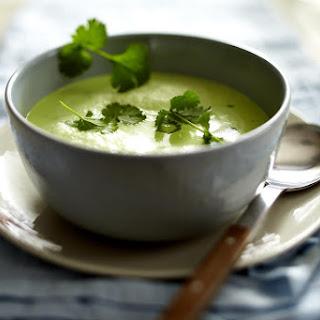 Pea and Cilantro Soup