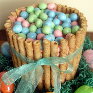 Easy Easter Basket Cake Recipe Rice Krispies Treat