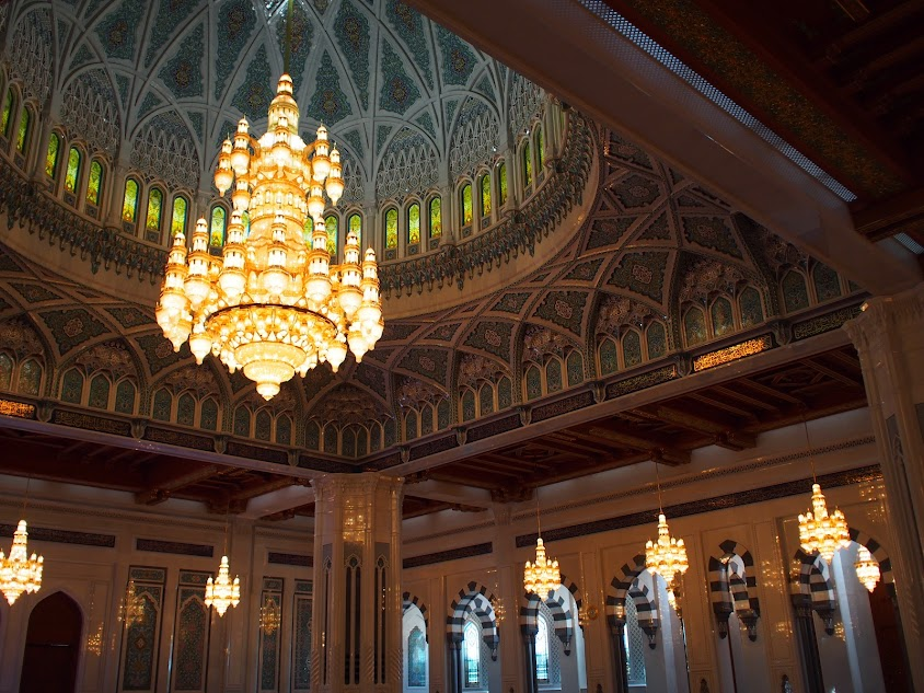 grand mosque oman 7 chandelier