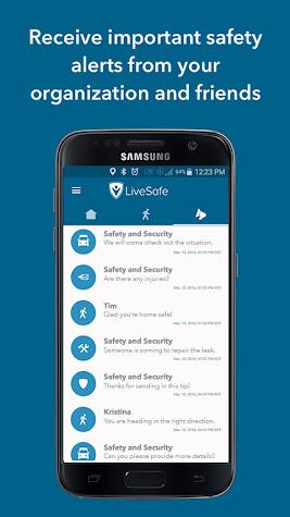 LiveSafe Screenshot