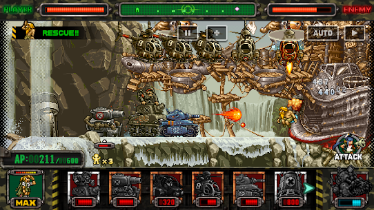 METAL SLUG ATTACK Mod Apk (Unlimited AP) 7