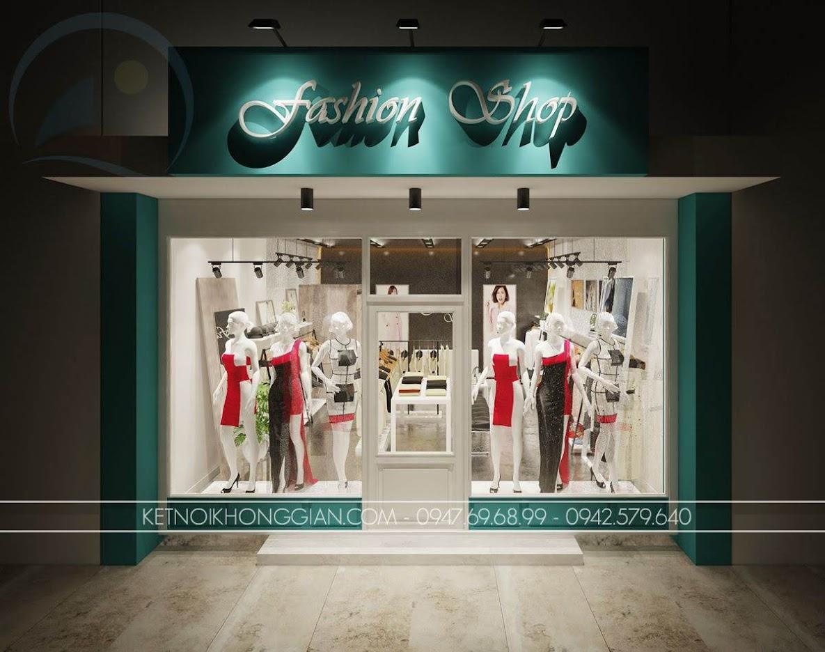 mẫu thiết kế shop thời trang giá rẻ số 1 - 8