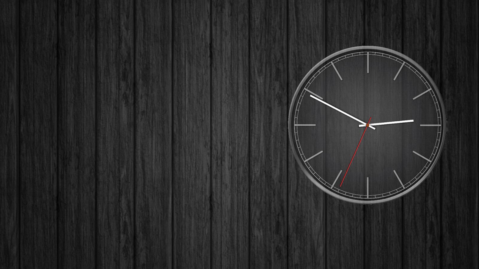 Go Launcher 3d Wallpaper Battery Saving Analog Clocks Live Wallpaper Android Apps