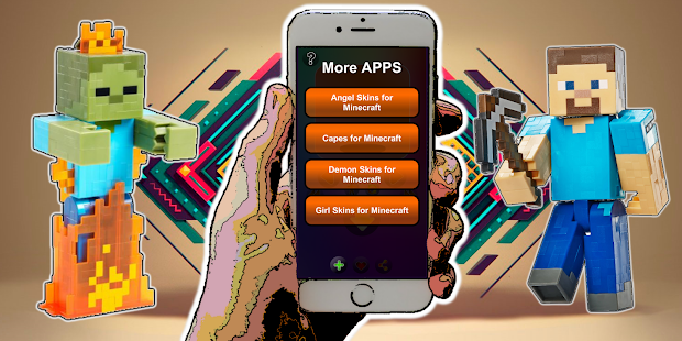 Descargar Camouflage Skins For MCPE APK APK Para Android - Skin para minecraft pe de madera
