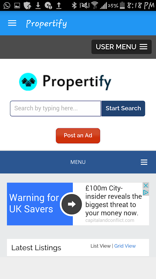 Propertify- screenshot