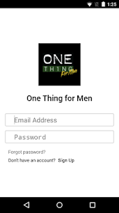 One Thing for Men- screenshot thumbnail