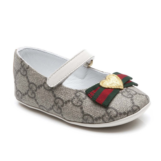 Primary image of Gucci GG Baby Supreme Ballet Flat