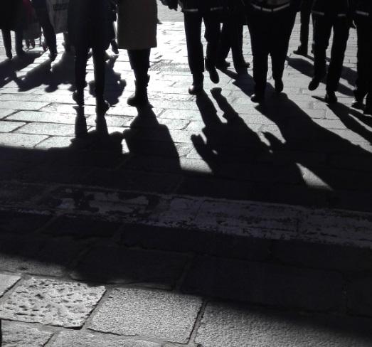 """""""passo d'ombre"""" di Gilda Bellicoso"""