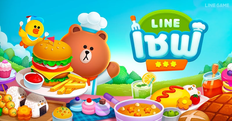 LINE เชฟ เกมทำอาหาร ใหม่ล่าสุดจาก LINE GAME