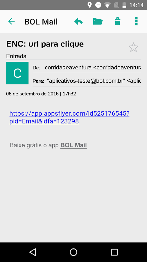 BOL Mail- screenshot