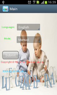 Kids Application screenshot