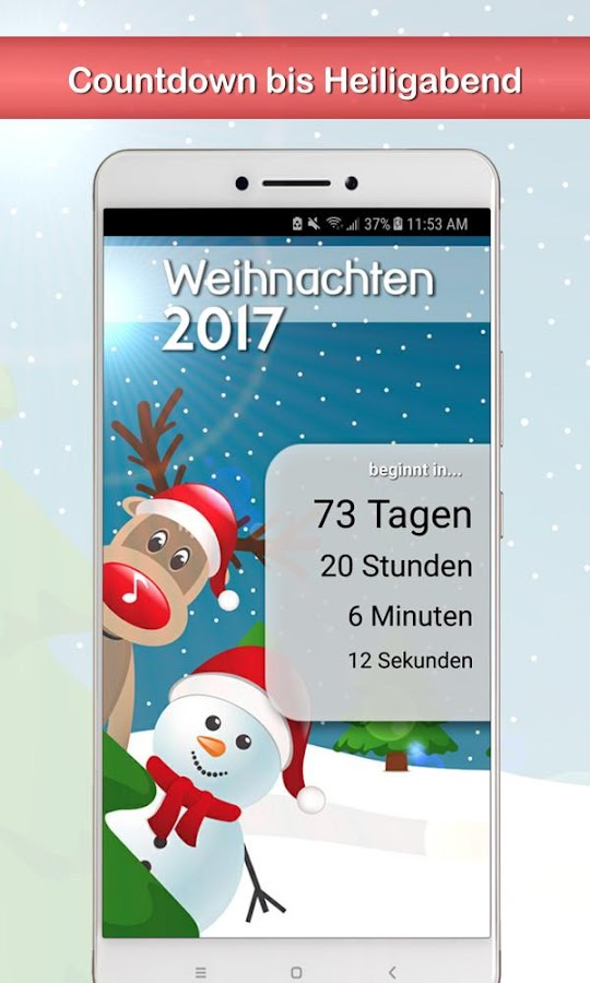 weihnachten 2017 die ultimative weihnachts app android apps auf google play. Black Bedroom Furniture Sets. Home Design Ideas