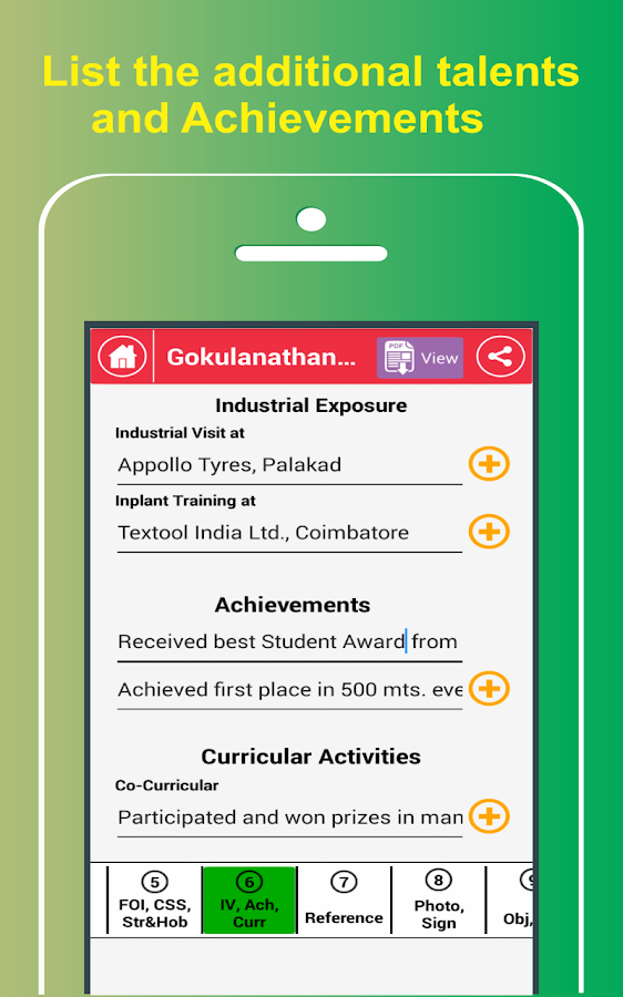 My Resume BuilderCV Free JobsAndroid Apps on Google Play
