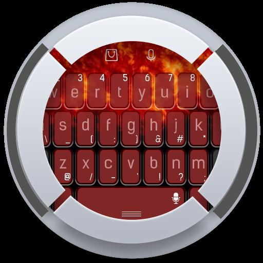 个人化のオレンジパワーキーボード LOGO-記事Game