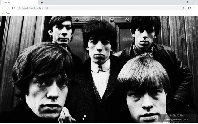 The Rolling Stones New Tab