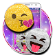 Glitter emoji theme for PC-Windows 7,8,10 and Mac