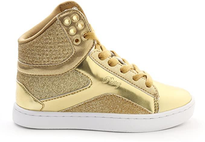 Pastry Pop Tart Glitter High-Top Sneaker & Dance Shoe for Kids