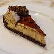 Pecan Fudge Cheesecake