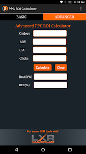 PPC ROI Calculator screenshot 3