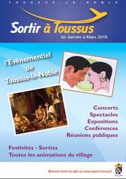 Sortir à Toussus de janvier à mars 2016