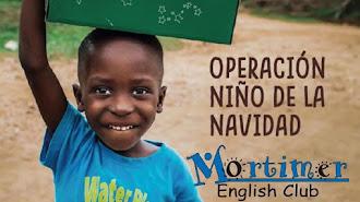 Un año más Mortimer English Club Almería se convierte en punto de recogida de Operación Niño de la Navidad.