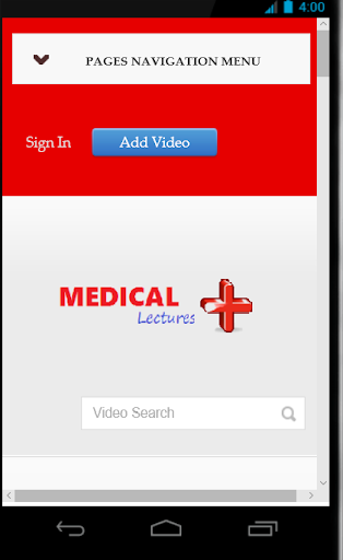 Medical lectures