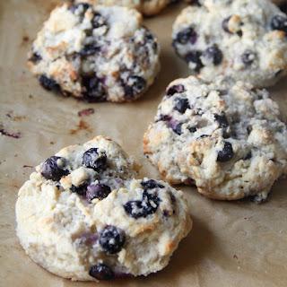 Buttermilk Blueberry Biscuits