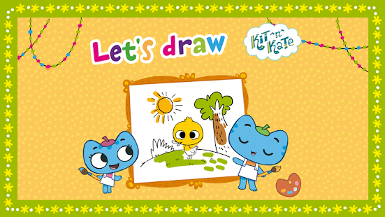 Kit^n^Kate Let's Draw- screenshot thumbnail