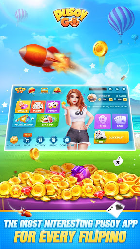 Pusoy Go: Free Online Chinese Poker(13 Cards game) apktram screenshots 1