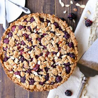 Blackberry Crisp Tart (GF + Vegan)