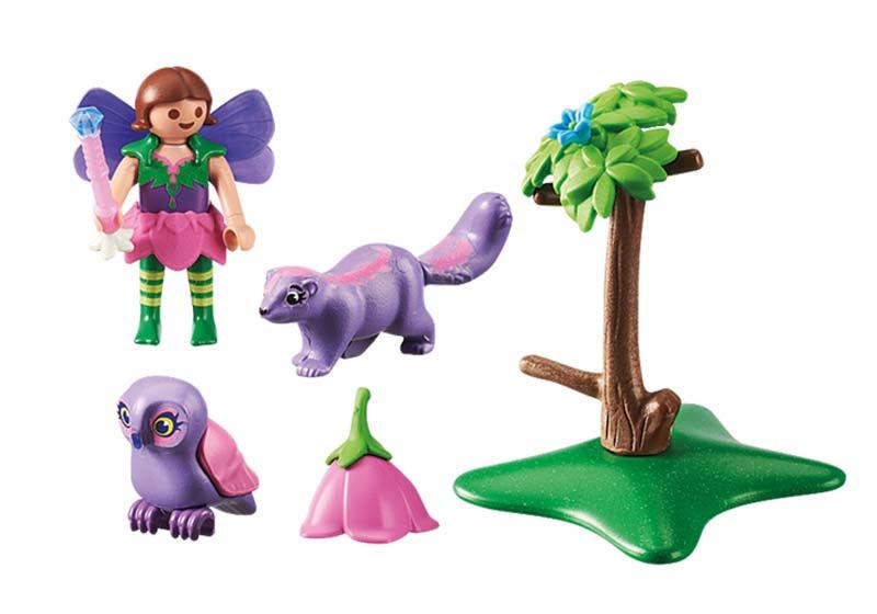 Contenido real de Playmobil® 9140 Niña Hada con Búho