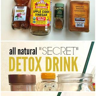 """All Natural """"Secret"""" Detox Drink."""