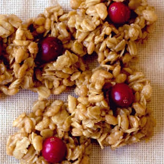 Wyman's of Maine No-bake Cranberry Oat Cookies.