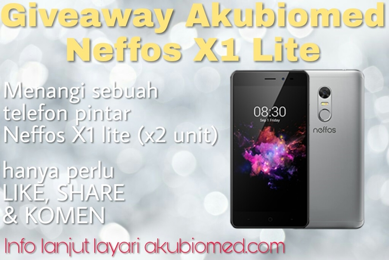 Giveaway AkuBiomed Neffos X1 Lite