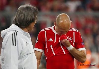 La femme d'Arjen Robben a contracté le coronavirus